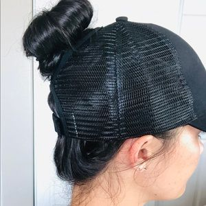 NEW FAV HAT! Messy bun or high ponytail ESSENTIAL